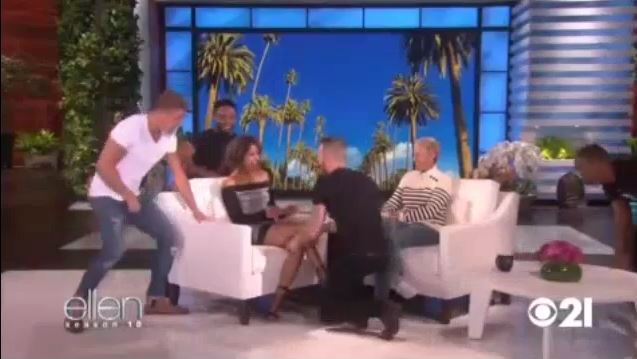 Halle Berry Gets A Surprise From Channing Tatum Sept 08 2017