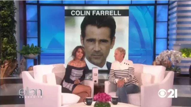 Ellen Helps Halle Berry Swipe Right Sept 08 2017