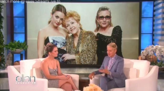Billie Lourd Interview Sept 12 2017