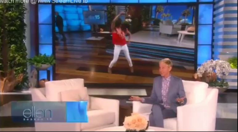 Ellen Monologue & Dance Sept 12 2017