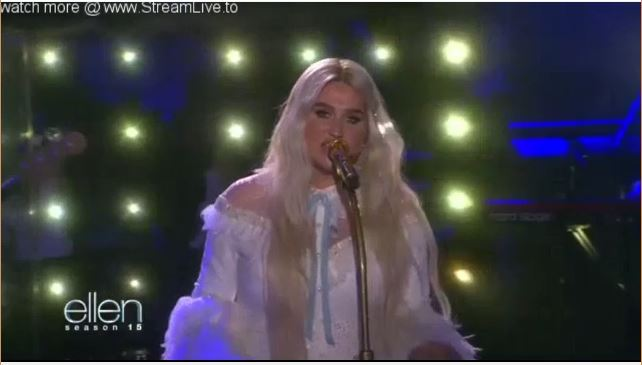 Kesha Performance Sept 22 2017