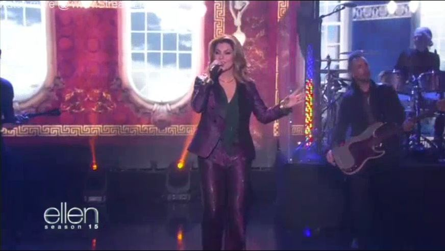 Shania Twain Performance Sept 29 2017